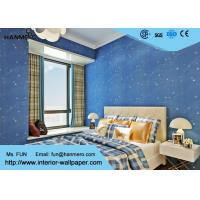 Deep blue kids bedroom wallpaper non toxic childrens for Bedroom wallpaper for sale