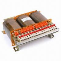 China Three-phase Dry Type Transformer, Made of Copper Windings and Grain-oriented Silicone Core on sale