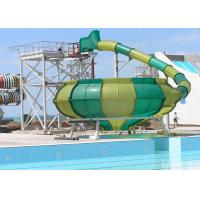 China Space Bowl Funny Custom Water Slides / Amusement Park Equipment on sale