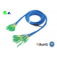 Buy cheap 24F micro fanout Fiber Optic Patch Cord LC APC - LC APC SM OS2 main cable 3.0mm from wholesalers