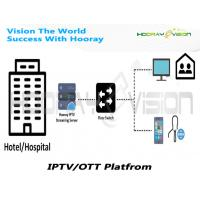 China Hotel IPTV System Solution With Innovative Guest Entertainment Experience on sale