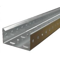China Structural Pultruded Building Cable Tray Fiberglass FRP Material Grey Color on sale