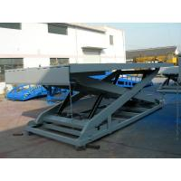 380V 1 - 20T Scissor Lift Platform with large Load capacity for workshops , warehouse Manufactures