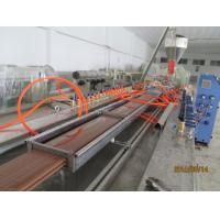 PP PE PVC WPC Wood plastic extrusion line for skiting ceiling window door profile Manufactures