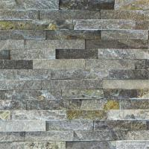 Slate Culture Stone Blue Quartzite Ledge Stone Panels with Flat Face, China Wall Stone Cladding WPB-25 Manufactures