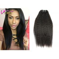 1b Kinky Straight Cambodian Virgin Hair Weft No Tangle And Shedding Free Manufactures