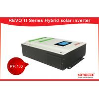 Battery Connected Hybrid Solar Inverter With 3kW Wide PV Input Range Manufactures
