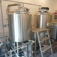 Mini used home Beer brewery equipment for sale /Red Copper Brewhouse Manufactures