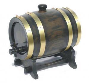 China Spirits Barrel Box /Wooden Oak Wine Cask on sale