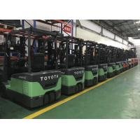 Original eletric TOYOTA used warehouse forklift trucks imported from Japan for sale