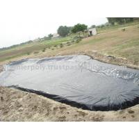 0.2mm - 3mm Thickness Geomembrane Pond Liner HDPE / PVC Geomembrane Poll Liner Manufactures