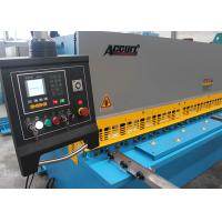 CNC Control Hydraulic Shearing Machine Low Tolerance CE ISO Certification Manufactures