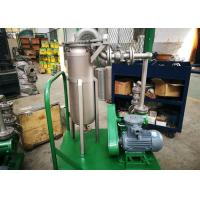 China Pulse Jet Bag Filter System / Lube Oil Filter High Efficiency Enclosed Operation on sale