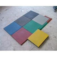 Quality Multi Color Playground Rubber Mats Plastic Environmentally Friendly for sale