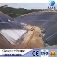 LDPE geomembrane rolls hdpe liner sheet Manufactures