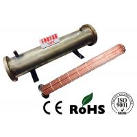 Professional Horizontal Shell And Tube Condenser R407C Refrigerant Energy Saving Manufactures