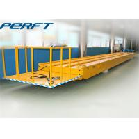 China 30 ton die and mold rail guided transfer cart with electric material handling equipment on sale