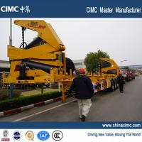 tri-axle 40ft container side lifter with 37 tons load capacity Manufactures