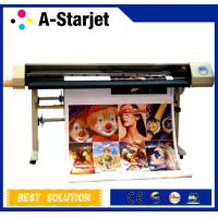 Buy cheap 540 Nozzles DX5 Eco Solvent Printer ,High Speed With Four DX5 Print Head from wholesalers