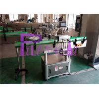 China Single Head Automatic Bottle Labeling Machine , High Speed 40~180 b/min on sale