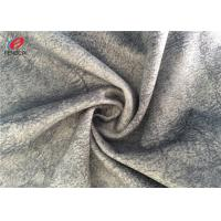 Customized Color Sofa Cover Grey Velvet Upholstery Fabric For Furniture Manufactures
