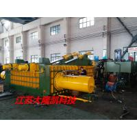 China Stainless Steel Hydraulic Scrap Baler Machine , Turn - Out Baling Press Machine Y81F - 315 on sale
