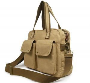 Canvas Single Shouler Laptop Bag Lx12244 Manufactures