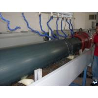 SGS Plastic PE Water Pipe Extrusion Line / PPR Co - Extruder High Output Manufactures