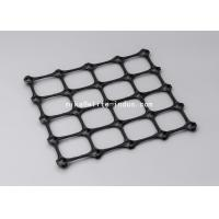 PP Biaxial Plastic Geogrid 3.95m Width 50m Length For Road Construction Manufactures