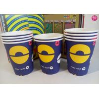 Flexo Overprint 4 Colors 9oz Paper Hot Drink Cup with OEM Design Artwork Manufactures