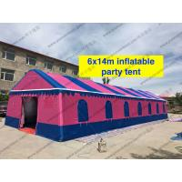 Colorfull PVC Event Tent 6 x 14m , Large Event Tents Inflatable With PVC Windows Manufactures