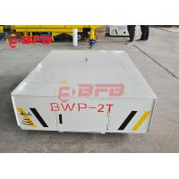 Quality 25t mold handling electric trackless car on concrete ground battery power for sale