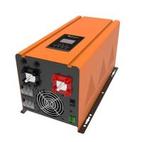 China LED / LCD Display Yellow Solar Inverter Smart Battery Charger Design on sale