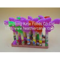 Multi Color Gun Toy Candies / Tablet Candy With Sugar Particle Texture Manufactures