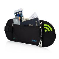 Portable Womens Travel Bum Bag  / Travelon Anti Theft Waist Pack Manufactures