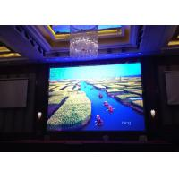 Quality P5 Full Color IP43 SMD indoor LED video wall  1800CD Brightness Automatically for sale