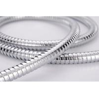 High Glossiness Metal Flexible Shower Hose Replacement Anti twist for Bathroom Manufactures
