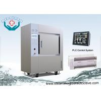 Horizontal Durable 1500 Liter Large Medical Instrument Steam Sterilizer With Pneumatic Door Manufactures