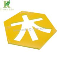 Quality 50 micro Customized Self Adhesive Protective Film for PVC Foam Sheet for sale