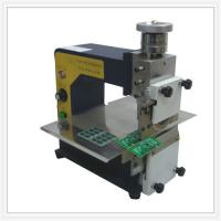 High Speed Steel Round Blades PCB Depaneling Machine For PCB Assembly Manufactures