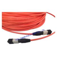 China MPO Multi Mode Fiber Optic Patch Cable Low Insertion Loss For FTTX on sale