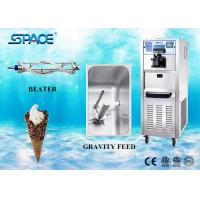 Professional Soft Serve Commercial Ice Cream Maker 304 Stainless Steel Material Manufactures