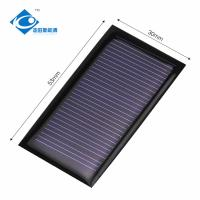 5V 0.15W ROHS polycrystalline solar panels ZW-5330 Lightweight Silicon Solar PV Module Manufactures
