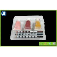 Buy cheap Environmental Plastic Cosmetic Trays organizer , acrylic cosmetic tray from wholesalers