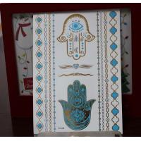 China Custom metallic temporary tattoo on sale
