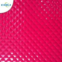 China OEM Synthetic Leather Fabric Waterbase Vegan Smooth Tough Flexibility Foiled on sale