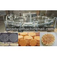 Buy cheap Automatic Pizzelle Cookie Machine |Easy Operate Ice cream Cone Machine/Egg Roll Machine/Sunflower Cookie Machine from wholesalers