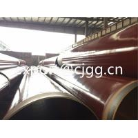 China Outer / Internal Epoxy Coating Anti Corrosion Steel Pipe DIN 30670 / DIN 30678 wholesale