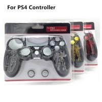 China Robot Pattern Soft Protective Silicon Rubber Cover Skin Case for PS4 Controller on sale