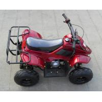 Air Cooled 4 Stroke 110cc Four Wheeler , Chain Drive Youth ATV Racing Manufactures